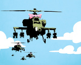 Choppers Posters by  Banksy