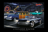 Cyclone Racer Posters by Helen Flint