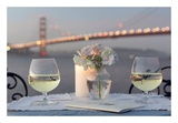Dream Cafe Golden Gate Bridge 79 Posters by Alan Blaustein