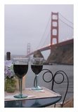 Dream Cafe Golden Gate Bridge 38 Posters by Alan Blaustein