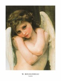 Cupidon Art by William Adolphe Bouguereau