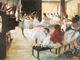Ecole de Danse Poster by Edgar Degas