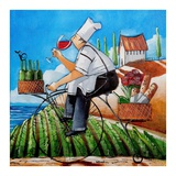 Chef's Delivery Art by Ronald West