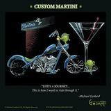 Custom Martini Plakater av Michael Godard