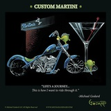 Custom Martini Posters by Michael Godard