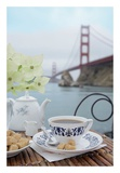 Dream Cafe Golden Gate Bridge 16 Posters by Alan Blaustein