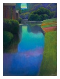 Dusk at Contevoir Prints by Ian Roberts