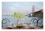 Dream Cafe Golden Gate Bridge 15 Posters by Alan Blaustein