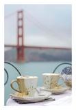Dream Cafe Golden Gate Bridge 55 Prints by Alan Blaustein