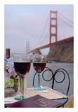 Dream Cafe Golden Gate Bridge 39 Prints by Alan Blaustein