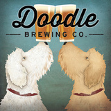 Doodle Beer Double Plakater af Ryan Fowler