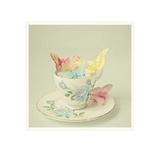 Cup of Butterflies Poster von Cassia Beck