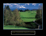 Determination – Golf Prints by  Unknown