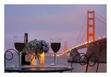 Dream Cafe Golden Gate Bridge 41 Posters by Alan Blaustein