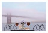 Dream Cafe Golden Gate Bridge 59 Prints by Alan Blaustein