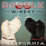 Doodle Wine Print by Ryan Fowler