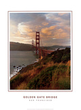 Golden Gate Bridge (vertical) Prints by Bob David