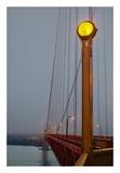 Golden Gate Bridge 50 Poster by Alan Blaustein