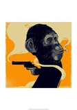 Gun Monkey Prints by  Bezt