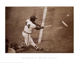 Hammerin' Hank Aaron Poster af Bettmann/Corbis