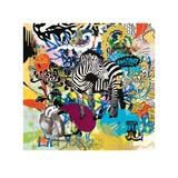 Kaleidoscope (Zebra) Posters by Ben Allen