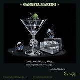 Gangsta Martini (Living Large) Posters av Michael Godard