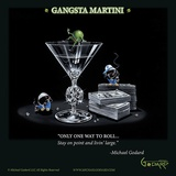 Gangsta Martini (Living Large) Prints by Michael Godard