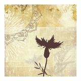 Golden Henna Breeze 2 Poster by Louis Duncan-He