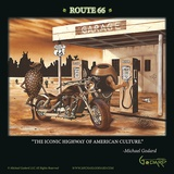Historic Route 66 Posters by Michael Godard