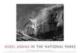 Half Dome, Blowing Snow, 1955 Posters av Ansel Adams