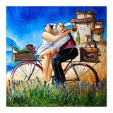 Just Married Art by Ronald West