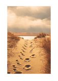 Footprints in the Sand Prints by Jane Booth Vollers