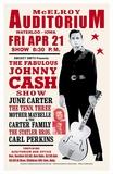 Johnny Cash, 1967 (Waterloo) ポスター : 作者不明