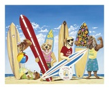 K-9 Surf Club Posters by Scott Westmoreland