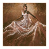Ethereal Grace Print by Monica Stewart