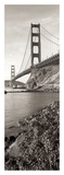 Golden Gate Bridge Pano 1 Print by Alan Blaustein
