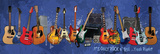 Guitars Print by Jim Baldwin