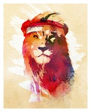 Gym Lion Posters by Robert Farkas