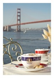 Dream Cafe Golden Gate Bridge 76 Print by Alan Blaustein