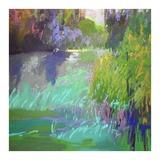 Flowing Through Print by Jane Schmidt