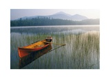 Guide Boat, Lake Placid, Adirondack State Park, New York Posters by Michael Melford
