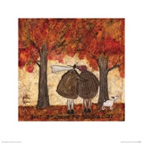 Just Beginning to See the Light Poster by Sam Toft
