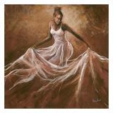 Ethereal Grace Lámina por Monica Stewart
