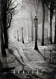 Escalier de la Butte Montmartre Kunstdrucke von  Brassaï