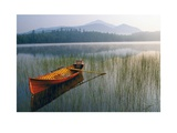 Guide Boat, Lake Placid, Adirondack State Park, New York Art by Michael Melford