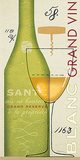 Grand Vin Blanc Posters by Sue Schlabach