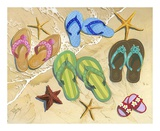 Flip Flop Family Posters by Scott Westmoreland