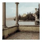 Giardino Vista Varenna Art by Alan Blaustein