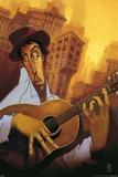 El Guitarrista Posters by  BUA