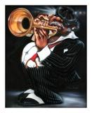 Jazzman Papa Joe Plakater af Leonard Jones
